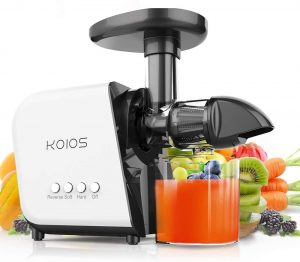 KOIOS Slow Masticating Juicer Extractor Machine